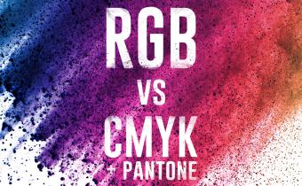 RGB vs. CMYK + Pantone
